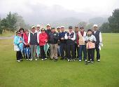 「ときめきるいふクラブ」オープンゴルフコンペ 於 児玉カントリークラブ 参加16名